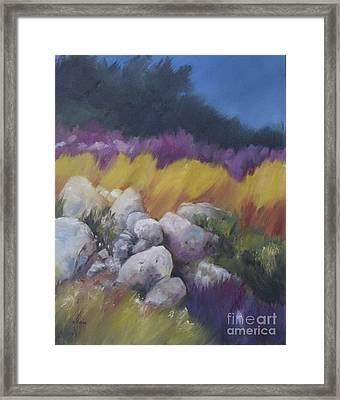 West Coast Color Framed Print