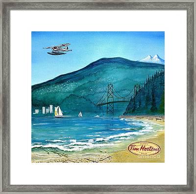 West Coast Dream Framed Print
