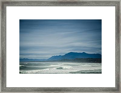 West Coast Exposure  Framed Print by Roxy Hurtubise