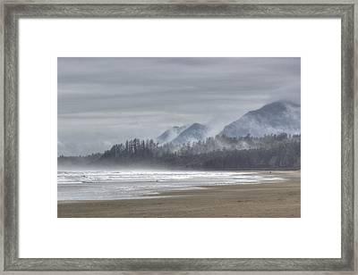 West Coast Mist Framed Print