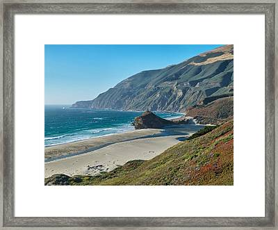 West Coast Serenity Framed Print