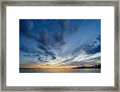 West Coast Sky Chief Framed Print by Terry Elniski