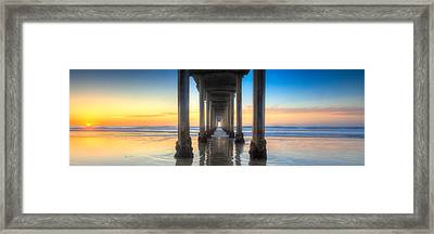 West Coast Tranquillity Framed Print