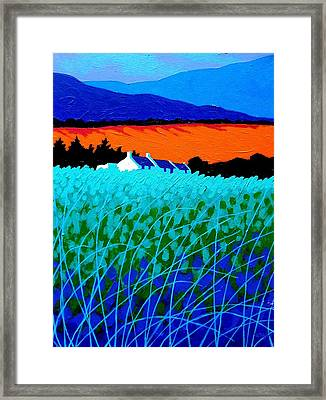 West Cork Landscape Framed Print by John  Nolan