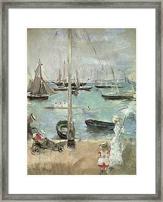 West Cowes Isle Of Wight Framed Print by Berthe Morisot
