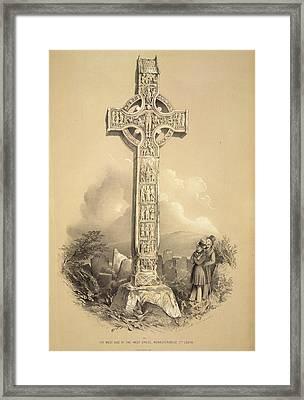West Cross Framed Print