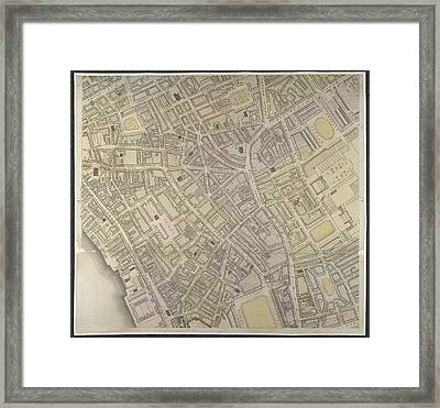 West End Framed Print by British Library