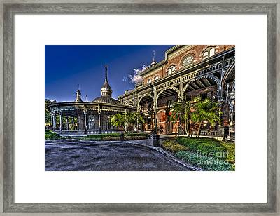 West Entry 1 Framed Print