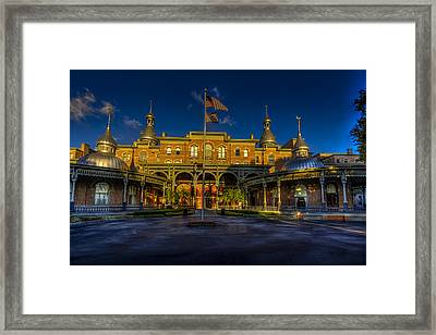 West Entry 2 Framed Print