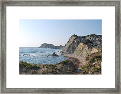 West Erikousa 1 Framed Print by George Katechis