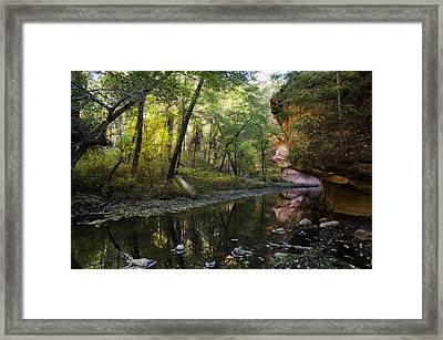 West Fork Reflections  Framed Print by Saija  Lehtonen