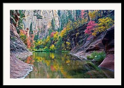 West Fork Framed Prints