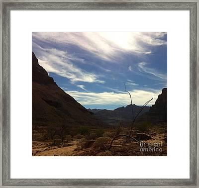 West Grand Canyon Framed Print by Juan Jiang