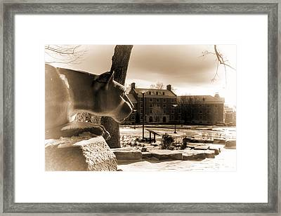 West Halls Framed Print