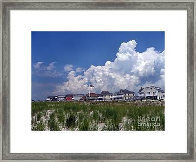 Framed Print featuring the digital art West Hampton by Steven Spak