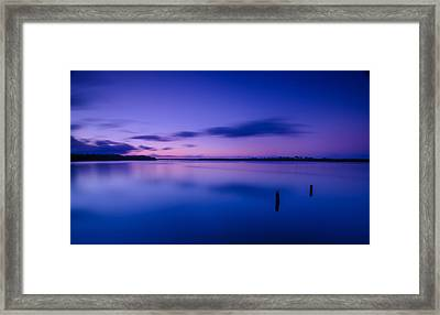 West Loch Sunrise Framed Print