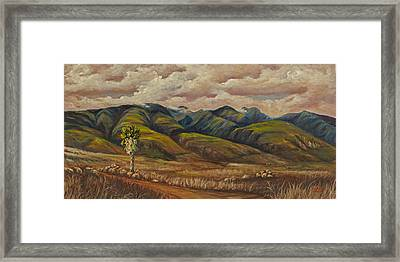Framed Print featuring the painting West Maui Splender  by Darice Machel McGuire