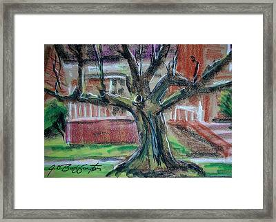 West Of B And K West Framed Print