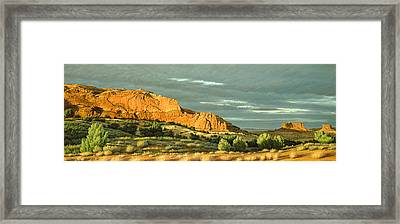 West Of Moab Framed Print