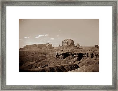 West Oo4 Framed Print