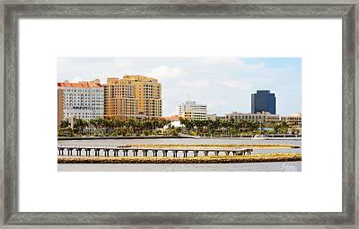 West Palm Beach Framed Print