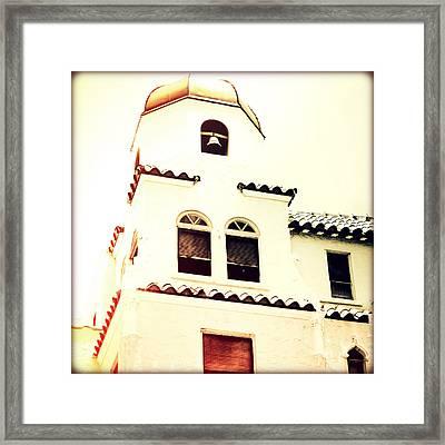 West Palm Sunset Framed Print