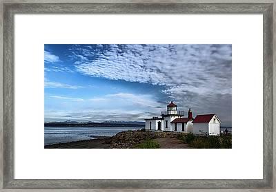 West Point Lighthouse II Framed Print