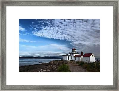 West Point Lighthouse Framed Print