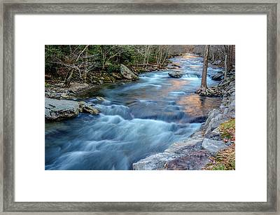 West Prong Framed Print