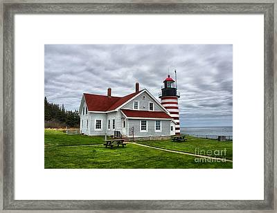 West Quoddy Lighthouse_4216 Framed Print by Joseph Marquis