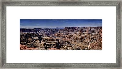 West Rim Framed Print