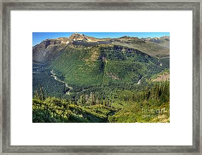 West Side Pullout Framed Print by Robert Bales