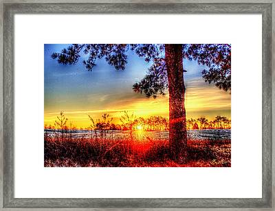 West Tennessee Sunrise Framed Print