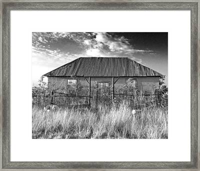 West Texas Decay Framed Print by Sonja Quintero