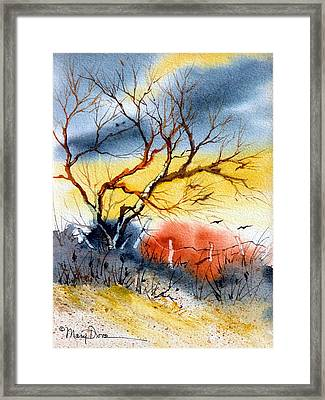 West Texas Sunrise Framed Print
