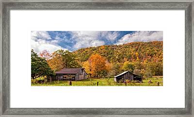 West Virginia Barns  Framed Print by Steve Harrington