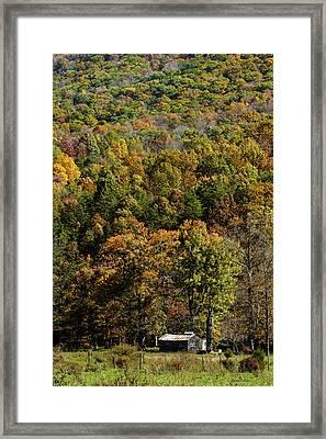 West Virginia Color Framed Print by David Lester