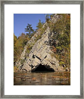 West Virginia Fishing Hole Framed Print