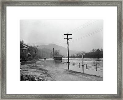 West Virginia Flood, 1939 Framed Print by Granger