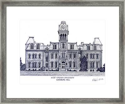 West Virginia Framed Print by Frederic Kohli