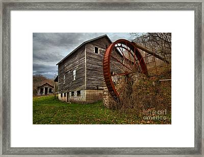 West Virginia Grist Mill Framed Print
