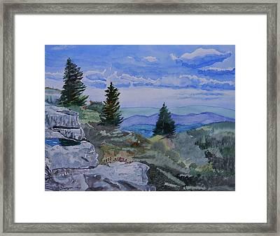 West Virginia On My Mind Framed Print by Warren Thompson