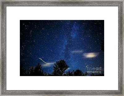 West Virginia Summer Sky Framed Print by Thomas R Fletcher