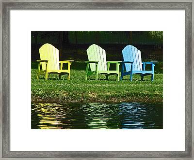 Westchester Adirondacks Framed Print