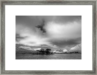Wester Ross Winter  Framed Print by Derek Beattie