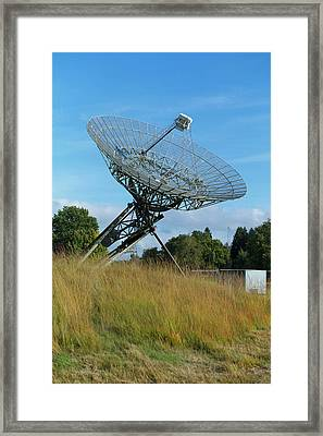 Westerbork Synthesis Radio Telescope Framed Print by Ibm Research