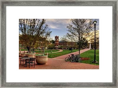 Western Carolina University Campus Framed Print