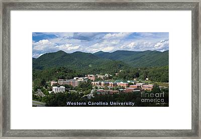 Western Carolina University Summer Framed Print