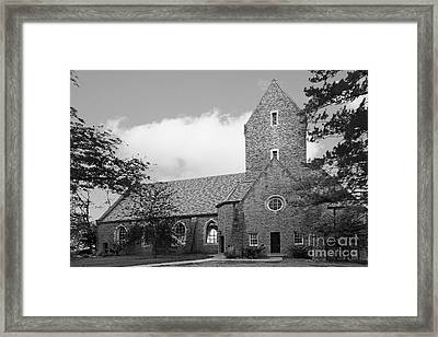 Western College For Women Chapel Framed Print by University Icons