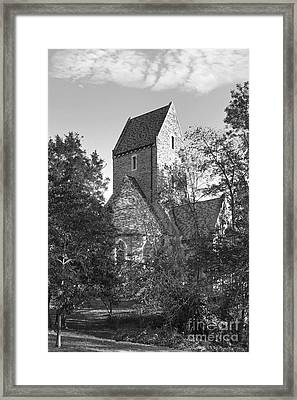 Western College For Women Framed Print by University Icons